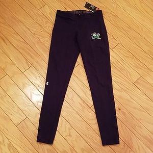 Under Armour Pants & Jumpsuits - NWT size S Notre Dame Under Armour leggings